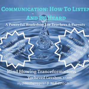 communication, listen and be heard