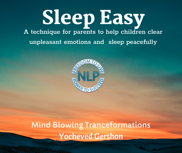 Sleep easy - release unpleasant emotions